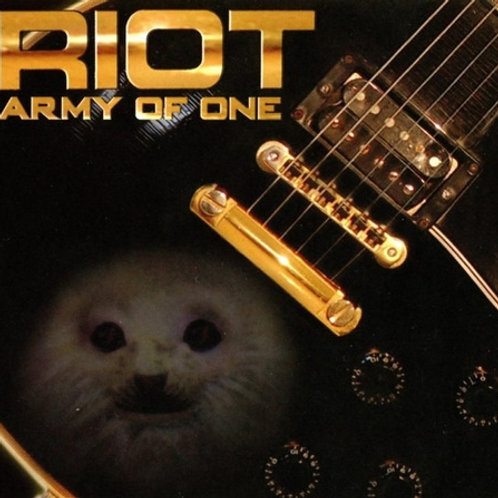 RIOT - ARMY OF ONE CD