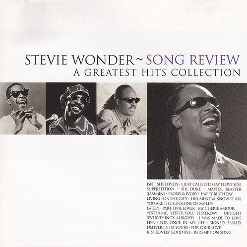 STEVIE WONDER - SONG REVIEW CD