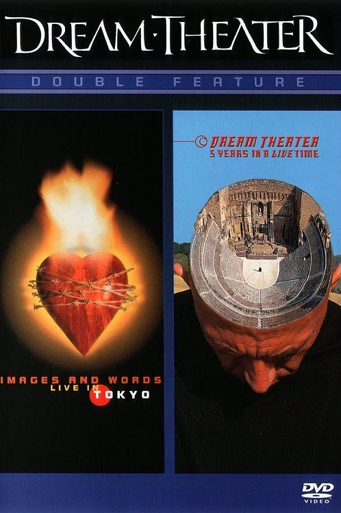 DREAM THEATER - DOUBLE FEATURE DVD