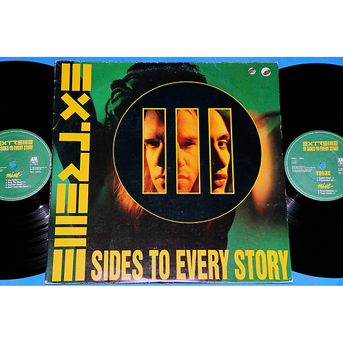 EXTREME - III SIDES TO EVERY STORY LP