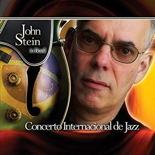JOHN STEIN - CONCERTO INTERNACIONAL DE JAZZ CD