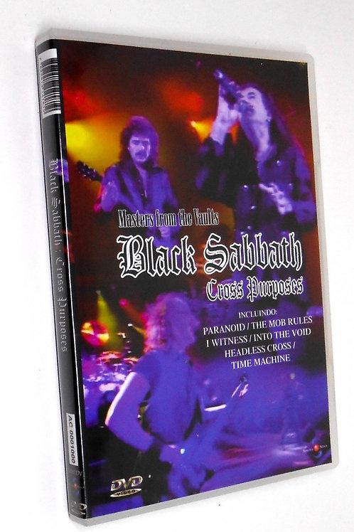 BLACK SABBATH - CROSS PURPOSES DVD