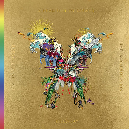 COLDPLAY - LIVE IN SAO PAULO & LIVE BUENO AIRES & A HEAD FULL OF DREAMS CD2/DVD