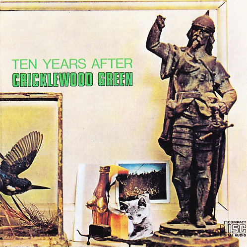 TEEN YEARS AFTER - CRICKLEWOOD GREEN LP
