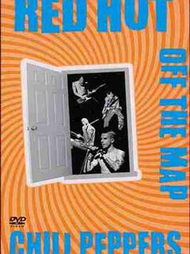 RED HOT CHILLI PEPPERS - OF THE WALL MAP DVD
