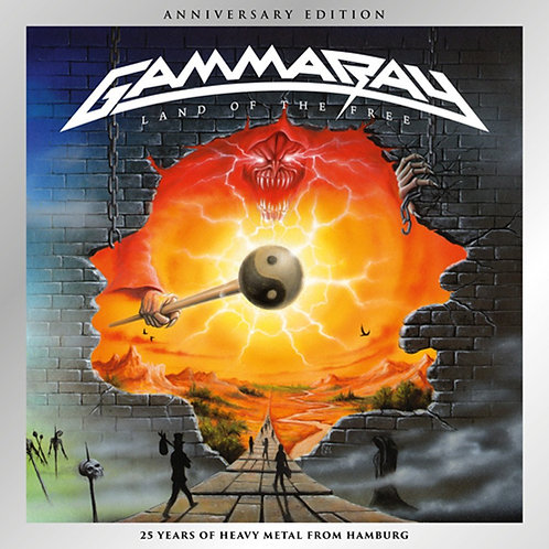 GAMMA RAY - LAND OF THE FREE CD