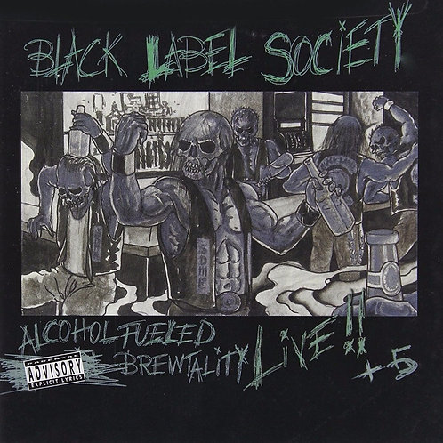 BLACK LABEL SOCIETY - ALCOHOL FUELED BREWTALITY LIVE DUPLO CD