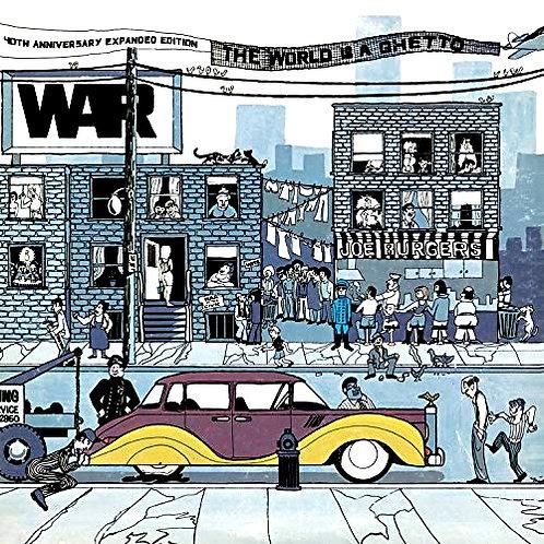 WAR - THE WORLD IS A GHETO LP
