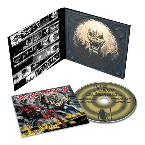 IRON MAIDEN - THE NUMBER OF THE BEAST DIGIPACK CD