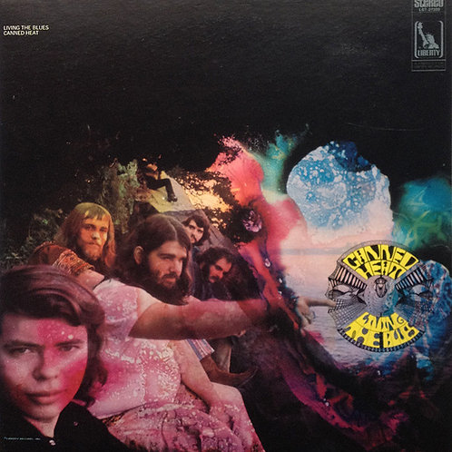 CANNED HEAT - LIVING THE BLUES DUPLO LP
