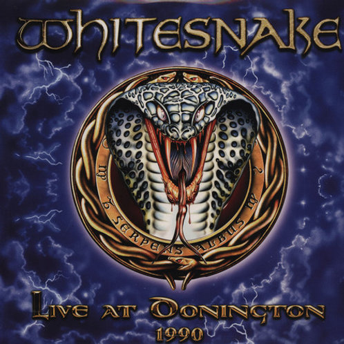 WHITESNAKE - LIVE AT DONINGTON  1990 DUPLO CD+DVD