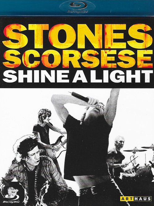 THE ROLLING STONES - SHINE A LIGHT BLU-RAY