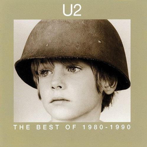 U2 - THE BEST OF 1980-1990 DUPLO CD RARO