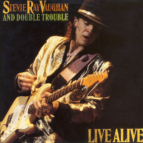 STEVIE RAY VAUGHAN - LIVE LIVE DUPLO LP