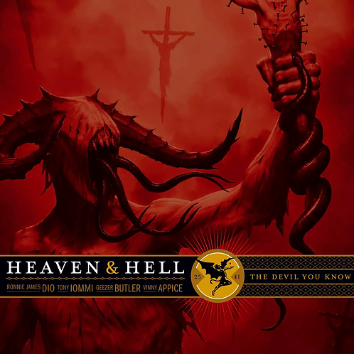 HEAVEN & HELL - THE DEVIL YOU KNOW CD