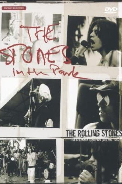 THE ROLLING STONES - LIVE AT LONDON HYDE PARK DVD