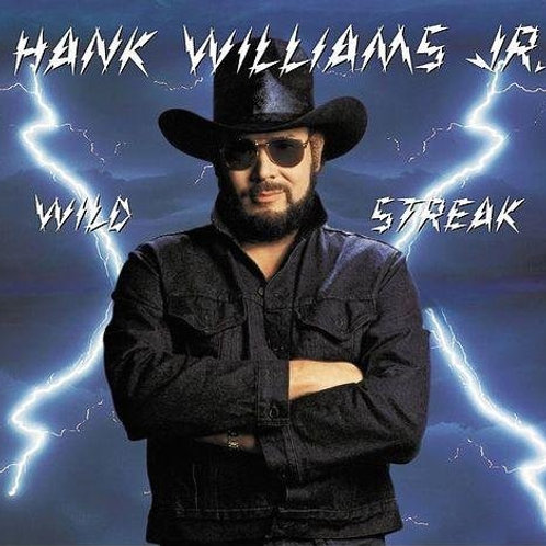 HANK WILLIAMS - WILD STREAK LP
