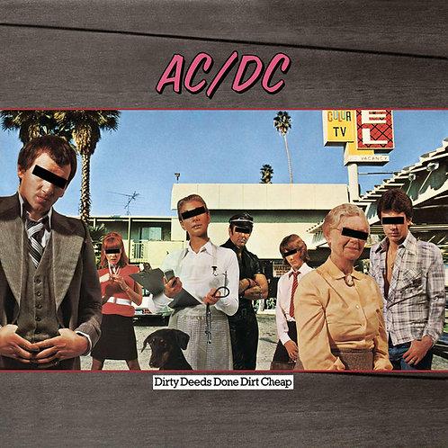 AC/DC - DIRTY DEEDS DONE DIRT CHEAP CD