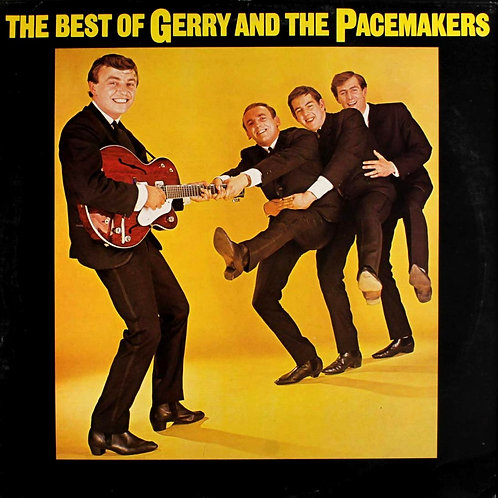THE BEST OF - GERRY AND THE PACEMAKERS LP
