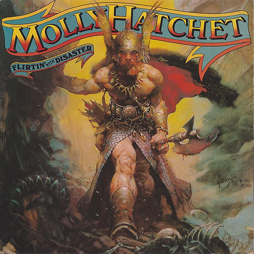 MOLLY HATCHET - FLIRTIN WITH DISASTER LP