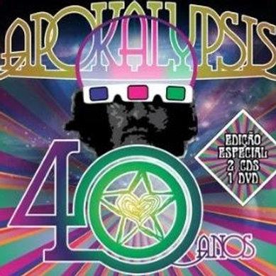 APOKALYPSIS - 40 ANOS DUPLO CD+DVD