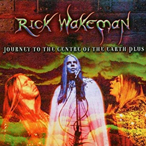 RICK WAKEMAN - JOURNEY TO THE CENTRE OF THE EARTH PLUS CD