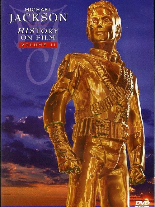 MICHAEL JACKSON - HISTORY ON FILM VOL.II DVD