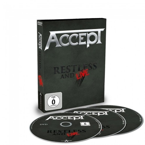 ACCEPT - RENTLESS AND LIVE 2CD+DVD