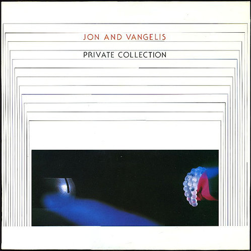 JON AND VANGELIS - PRIVATE COLLECTION  LP
