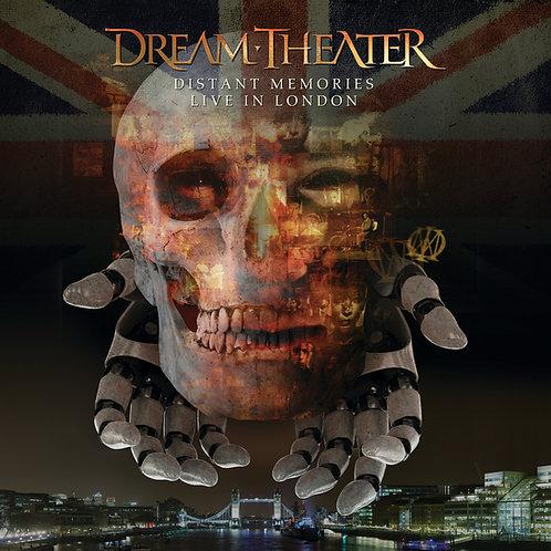 DREAM THEATER - DISTANT MEMORIES LIVE LONDON QUINTUPLO BOX
