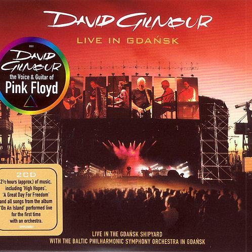 DAVID GILMOUR - LIVE IN GDANSK CD