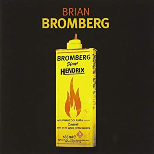 BRIAN BROMBERG - PLAYS HENDRIX CD