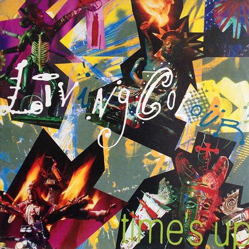 LIVING COLOUR - TIMES UP LP