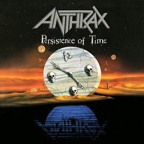 ANTHRAX - PERSISTENCE OF TIME CD
