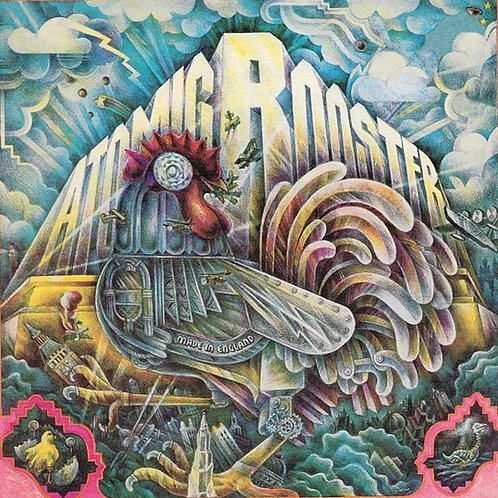 ATOMIC ROOSTER - MADE IN INGLAND CD