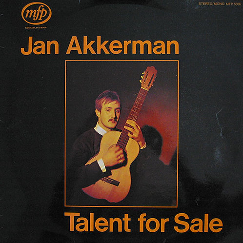 JAN AKKERMAN - TALENT FOR SALE DVD