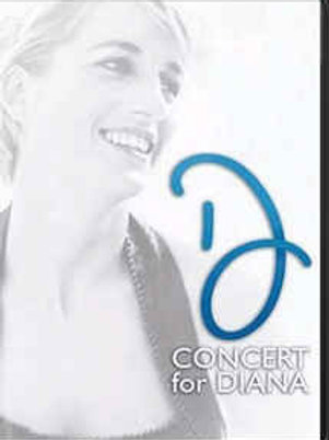CONCERT FOR DIANA DVD