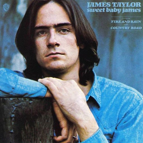 JAMES TAYLOR - SWEET BABY JAMES LP