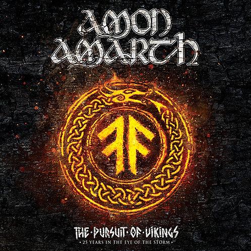 AMON AMARTH - THE PURSUIT OF KINGS TRIPLO CD