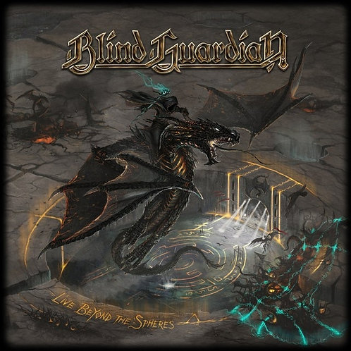 BLIND GUARDIAN - LIVE BEYOND THE SPHERES TRIPLO CD BOX