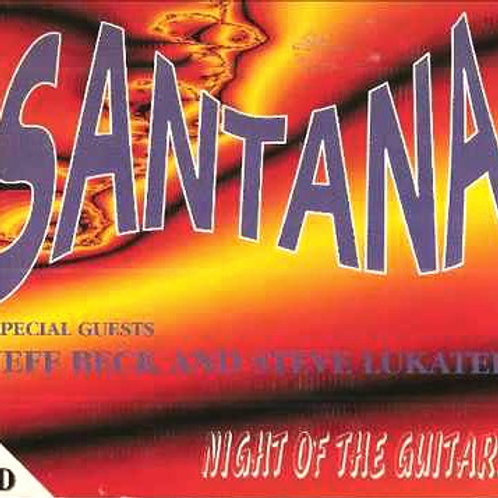 SANTANA - NIGHT OF THE GUITARS DUPLO CD DIGIPACK