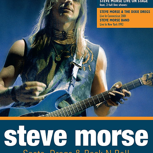 STEVE MORSE - SECTS, DREGS & ROCK N ROLL BLU-RAY