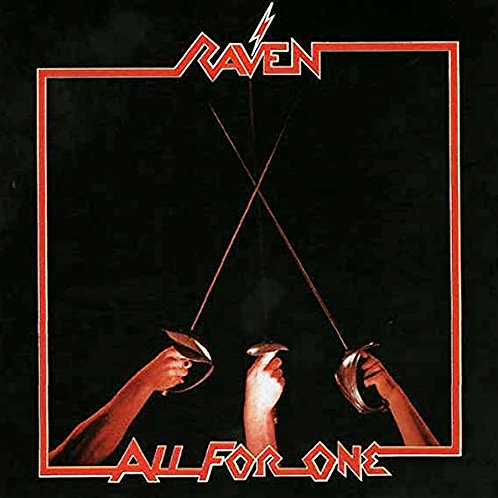 RAVEN - ALL FOR ONE CD