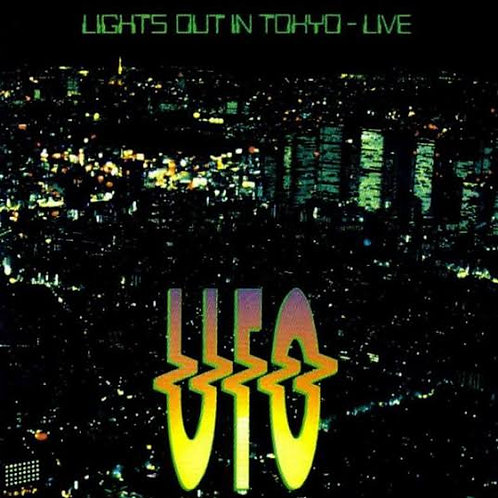UFO - LIGHTS OUT IN TOKYO LIVE CD