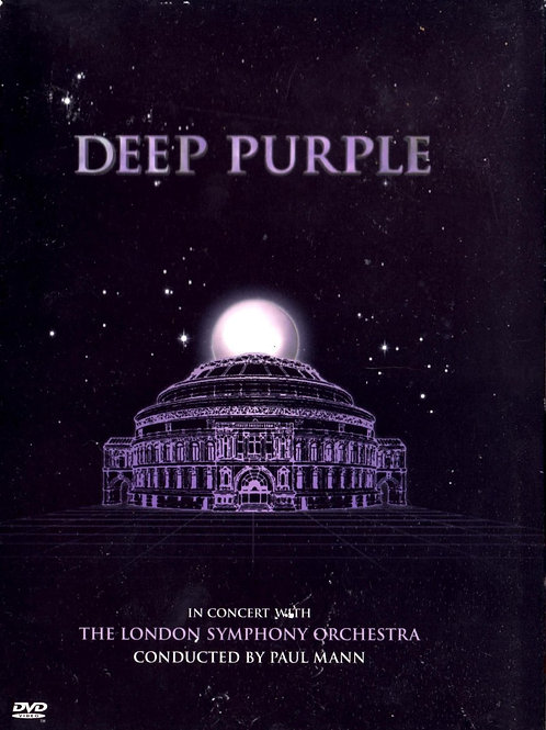 DEEP PURPLE - THE LONDON SYMPHONY ORCHESTRA DVD