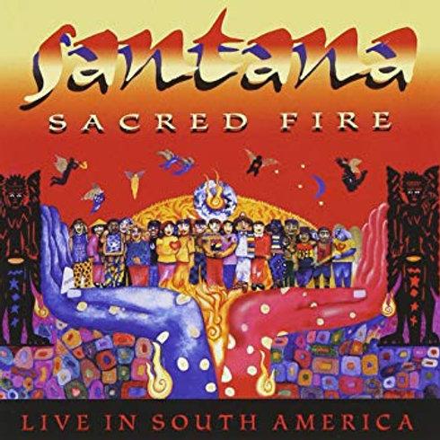 SANTANA - SACRED FIRE CD