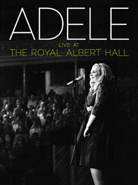 ADELE - LIVE AT THE ROYAL ALBERT HALL DUPLO DVD+CD