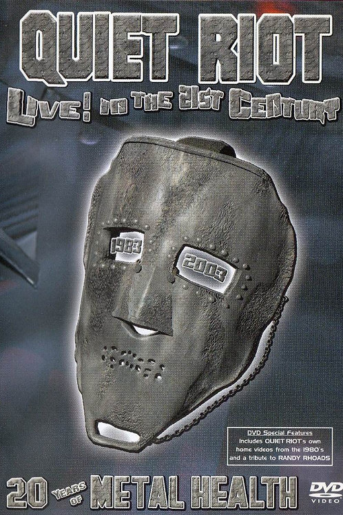 QUIET RIOT - LIVE! IN THE 21ST CENTURY DVD/CD