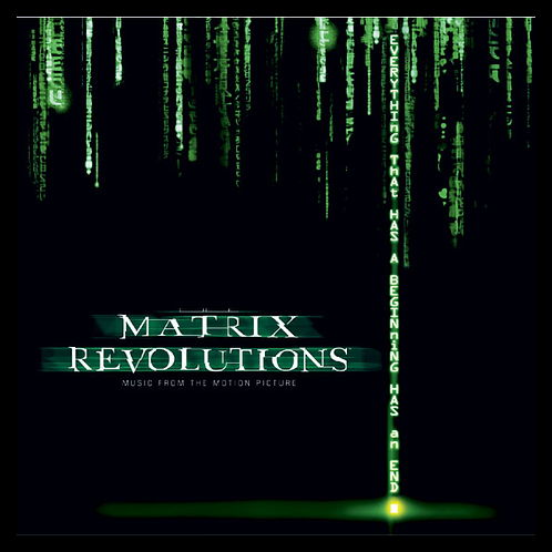 THE MATRIX REVOLUITON: FROM THE MOTION PICTURE CD