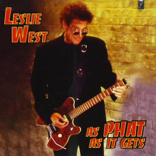 LESLIE WEST - AS PHAT AS IT GETS CD